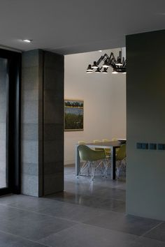 basalt tile floor-large tiles