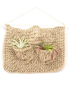 Air Plant Hangers by Chelsea Virginia are back in stock! These beauties were featured in the NY Times gift guide as their #3 pick! $36-40