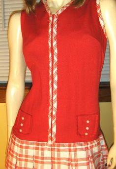 70s Schoolgirl Mod LOLITA Pleated Mini Dress S/M  ~GET IT NOW~ At KoolcatVintage