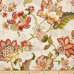 P Kaufmann Adelaide Blend Tigerlily Linen, Tiger Lily Textile Pattern Design, Fabric Patterns, Flower Patterns, Fabric Design, Paisley, Art Chinois, Art Japonais, Novelty Fabric, Korean Art