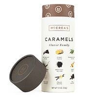 McCrea's Caramels Flavor Family—Foodies will love this uniquely flavored family of caramels from McCrea's. Flavors like black lava sea salt, rosemary truffle, and ginger fusion will tickle their taste buds and score you major points.