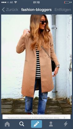Trench coat casual.