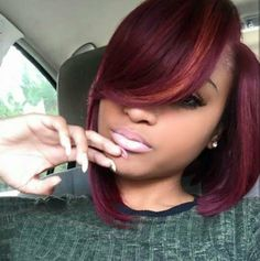 Beautiful color via @ms_willaworld - http://www.blackhairinformation.com/hairstyle-gallery/beautiful-color-via-ms_willaworld/