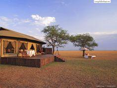 Really big tent. - Singita Sabora Tented Camp - Luxury Safari Camps