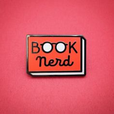 Bookish pins by Andrew Brozyna - Book Nerd
