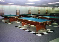 Fritztile Terrazzo tile    gameroom flooring  pool table floor