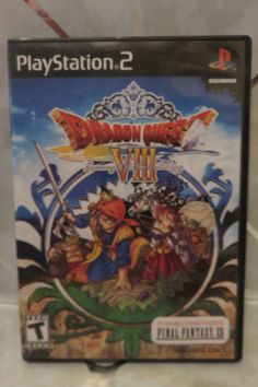 Dragon Quest VIII: Journey of the Cursed King (Sony PlayStation 2, 2005) w/Demo #PS2
