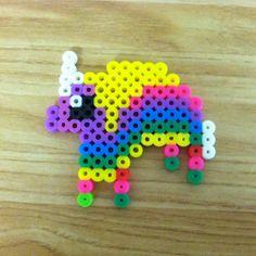 Lady Rainicorn Adventure Time perler beads by anmiller08