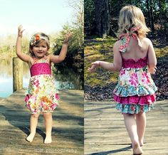 Oh the flowery ruffles! Found on Etsy.