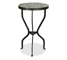 Mosaic Side Table for the Patio from Pottery Barn