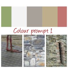 Colour Prompt 1 - choose at least 3 of the 5 colours from the palette