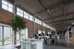 Galeria - Silo-top Studio, Escritório na cobertura de um antigo armazém / O-OFFICE Architects - 141