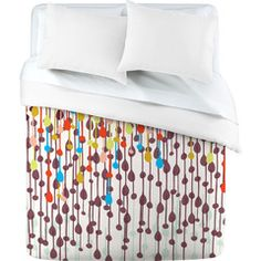 Khristian A Howell Candy Chandelier Duvet Cover