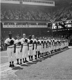 Ebbets Field home Opener 1952 vs.Giants