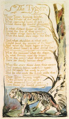 an analysis of the romantic period written by william blake William blake is famous as a socially critical person with an amazing poetic attitude of his era although, he was not an atheist but still, william was extremely critical about the concept of church.