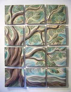 Decorative Tiles For Wall Art Concrete Tiles _ Backsplash Tiles _ Decorative Tiles _ Wall Decor