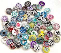 50pcs/lot mix styles colors 12mm small button snap wholesale  jewelry interchangeable ginger snap button charm free ePacket