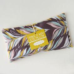 Make A Wish eye pillow - good tag