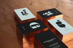 Unique Business Card, Kathrin Gruhendahl #BusinessCards #Design (http://www.pinterest.com/aldenchong/)