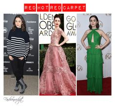 """""""Best Dressed January 2017 (Hollywood Edition): Lily Collins"""" by fashionwidget on Polyvore"""