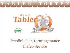 Tabler Torten. Persönlicher, pünktlicher Liefer-Service.