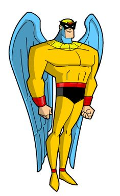 Birdman™ * Hanna-Barbera * Winged Superhero * classic cartoon