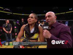 UFC 200 AMANDA NUNES X MIESHA TATE - YouTube