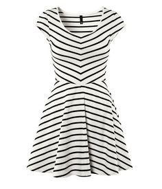 """So cute . . . w/ leggings and cardigan for winter, alone in summer . . . :} (""""Dress - $20 @ H&M; (must buy in-store), size M"""")"""