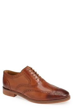 Free shipping and returns on Cole Haan 'Cambridge' Wingtip (Men) at Nordstrom.com. Handsome leather shapes a clean-cut wingtip marked with classic brogue details.