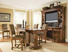 Dining Room Montebella Gathering Height Table For The