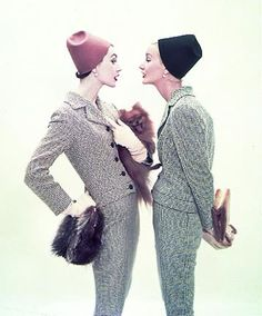 Vintage Fashion hats