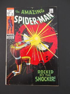 Amazing Spider-Man #72! Silver Age! 1969! Shocker! Marvel! Stan Lee! John Romita