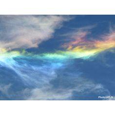 「虹色の絶景」