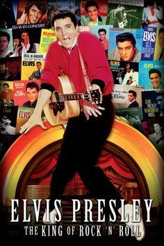 Elvis King of Rock N' Roll Poster - TshirtNow.net