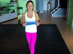 Hip Strengthening Exercises Using a Resistance Band. Free 5 minute injury prevention routine