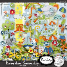 Rainy day Sunny day COLLAB :: Collaborations :: Memory Scraps