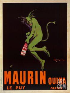 Art.fr - Reproduction d'art 'Maurin Quina, vers 1906' par Leonetto Cappiello