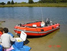 Saturn 14' SD430 Inflatable Boat. Click to zoom in.