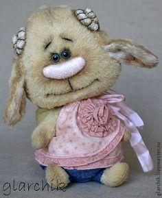 Геша - авторская игрушка,коллекционная игрушка,друзья тедди,Бараша,овечка