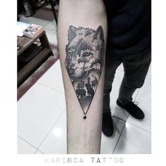 Dotwork Wolf Tattoo on the arm https://www.instagram.com/bahadircemtattoo/ #wolf #tattoo #dotwork #wolftattoo #dotworktattoo #armtattoo #geometrictattoo #tattoos #inked #tattooed #dövme #dovme