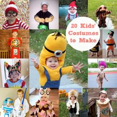 20 Kids' Halloween Costumes to Make - diycandy.com