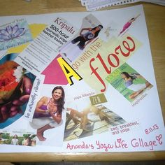 Happy #YogaMonday! My yoga collage inspired me today. How do you stay inspired in your #yoga practice?