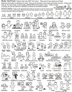 Outline Bodies Pen At Hand - Stick Figure Products by Ronnie Horowitz