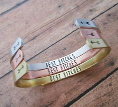 Best Bitches Bracelet - Best Friends Matching Bracelets - Best Friend Jewelry - Birthday Gift For Best Friend