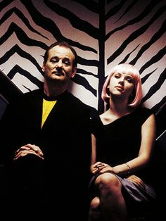 "Bill Murray and Scarlett Johansson in ""Lost in Translation"""