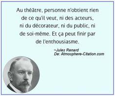 Citation de Jules Renard – Proverbes Populaires