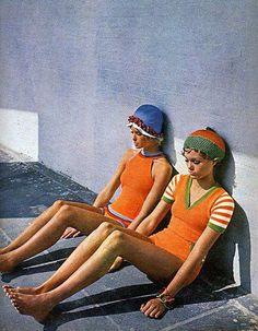 1960s Beach Wear. @Deidré Wallace