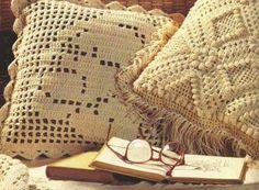Los 10 Cojines a Crochet más hermosos que puedas imaginar ~ CTejidas [Crochet y Dos Agujas]