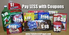 It is Fabuless to pay LESS WITH COUPONS!