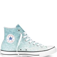Converse - Chuck Taylor All Star Santa Monica - Red Multi - Hi Estilo Converse, Cute Converse, Converse Sneakers, Blue Sneakers, Shoes 2018, Prom Shoes, Dress Shoes, Cute Shoes, Me Too Shoes